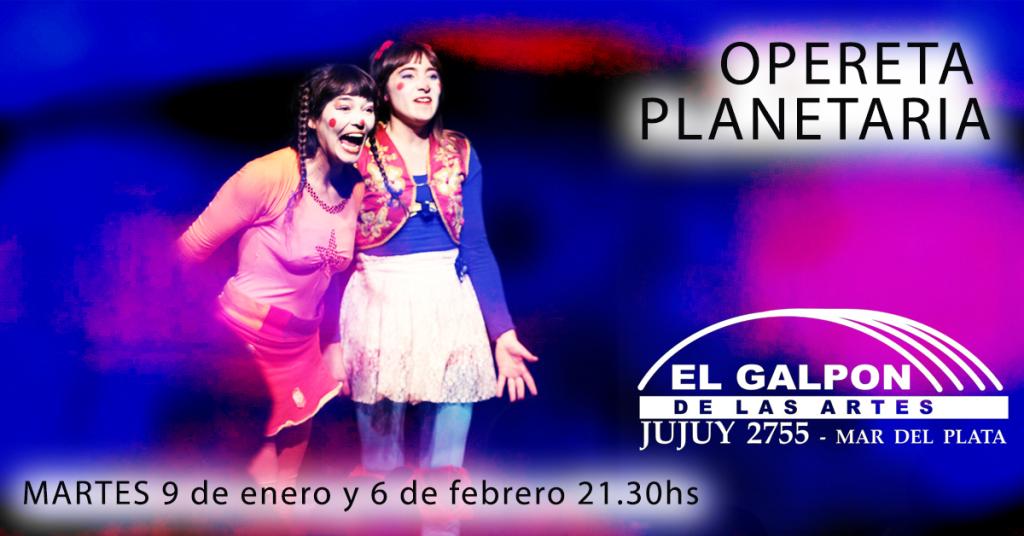 Opereta Planetaria - circo clown para toda la familia